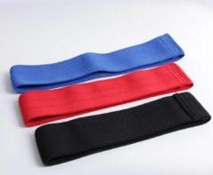 DW4Trading® - Weerstandsbanden zwart-rood-blauw set van 3