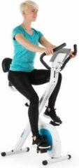Blauwe Capital_sports Klarfit X-Bike XBK700 Pro fiets-hometrainer ergometer polsmeter klapbaar