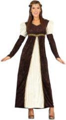 Generik Middeleeuwen & Renaissance Kostuum | Knappe Middeleeuwse Kasteeldame | Vrouw | Maat 42-44 | Carnaval kostuum | Verkleedkleding