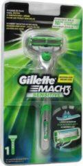 Gillette Mach3 Sensitive Scheersysteem + 1 scheermesje - Scheermes
