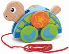 Viga Toys Trekdier Schildpad 20 Cm