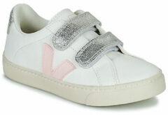 Witte Lage Sneakers Veja SMALL ESPLAR VELCRO