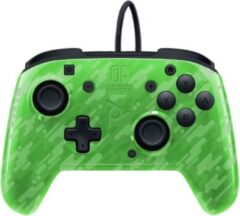 PDP Gaming Faceoff Deluxe+ Audio Nintendo Switch Controller - groen Camo