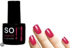 Roze So! Soak Off - Gel nagellak - Think Pink - 8ml