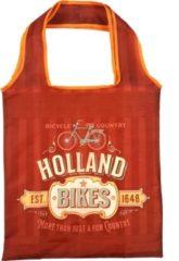 Matix Tas Holland Bikes 40 Cm Nylon Rood/oranje