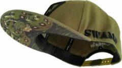 Capiche Snapback pet Heren - The Anaconda - Unisex - Onesize - Sportcap - Baseball Cap - Mannen - Groen