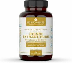 MCS Formulas Reishi Extract, 350mg/Capsule ( Ganoderma lucidum ) - 30% Polysaccharides - 15x stronger than the typical Reishi powder