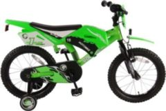 Volare 16 ZOLL MOTOBIKE Junior Bike Kinder grün