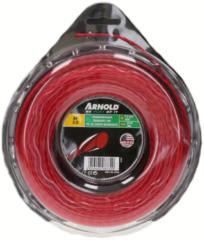 Trimmerfaden (AF 3.5, 2.0mm x 48.7m, rot, rund, gedreht) für Rasentrimmer
