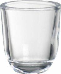 3 stuks Bolsius Kaarshouderglas 65x58mm transparant