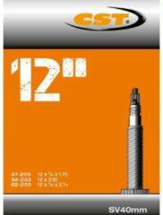 Zwarte CST - Binnenband Fiets - Frans Ventiel - 40 mm - 12.5 x 1.75 - 2 1/4