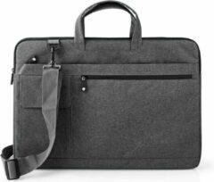 Nedis notebooktas met schouderriem en opbergvakken voor 17 inch t/m 18 inch notebooks / zwart