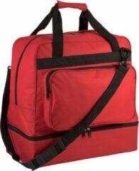 Proact Teamsporttas met handige bodem – 60 liter – rood