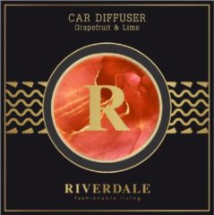 Oranje Riverdale Milou - Autoparfum - 4cm - orange