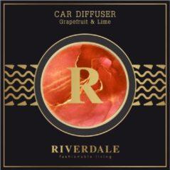 Oranje Riverdale NL Autoparfum Milou burnt orange 4cm