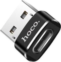 HOCO UA6 - Converter Adapter - USB naar USB-C - Opladen en Data - Zwart