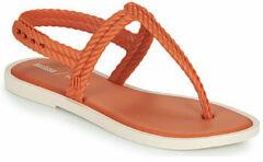 Oranje Teenslippers Melissa FLASH SANDAL SALINAS
