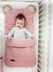 Roze Kinderhop Babyslaapzak 45 x 80 cm Dream Catcher Triangles Pink 6 in 1 - Baby sleeping bag