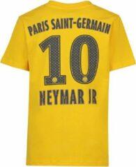 Gele Holland PSG T-shirt Neymar Uit Kids Katoen-116