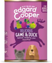 Edgard-Cooper Edgard&Cooper Blik Game Duck Adult - Hondenvoer - Wild Eend Rode Biet 400 g Graanvrij