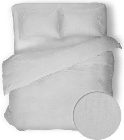 Afbeelding van Witte YELLOW Velvet Touch Dekbedovertrek - Litsjumeaux - 240x200/220 cm - Optical White