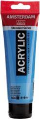 Royal Talens Amsterdam Standard acrylverf tube 120ml - 564 - Briljantblauw - dekkend