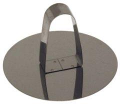 Grijze BrandNewCake Lares 6024 Metallic koekvormpje