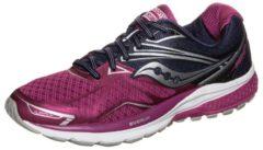 Rosa Ride 9 Laufschuh Damen Saucony purple / pink / silver