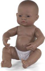 Miniland Babypop Meisje Met Vanillegeur 40 Cm Bruin