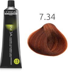 L'Oreal Professionnel L'Oréal - INOA - 7.34 Goud Koperblond - 60 gr