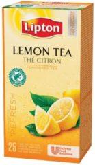 Thee Lipton citroen - doos met 25 zakjes