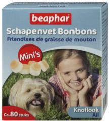 Beaphar Schapenvetbonbons Knoflook - Hondensnacks - Mini