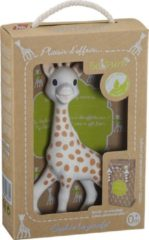 Beige Sophie de giraf So Pure Bijtspeelgoed - in geschenkdoos