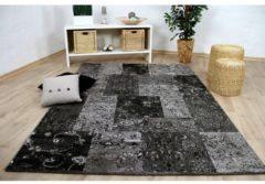 Pergamon Designer Teppich Sevilla Modern Grau Karo... 135x190 cm
