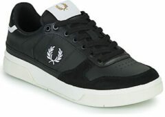 Zwarte Lage Sneakers Fred Perry B300