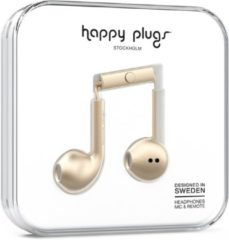 Happy Plugs Earbud Plus - In-ear oordopjes - Champagne