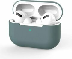 Donkergroene Airpods Pro Hoesje - Airpods Case - Hoesje voor Airpods - Airpods Hoesje Siliconen Case - Airpods 1 Hoesje - Airpods 2 Hoesje - Airpods Case Silicone - Airpods Pro Case - Airpods Hoes - Airpods Case Hoesje - Airpods Hoesje Gmedia®