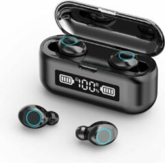 TWS - Draadloze oortjes / in-ear oordopjes - Bluetooth Draadloze buds - Luxe indicator - Geschikt voor alle smartphones o.a Samsung & Iphone, airpods, galaxy buds ,huawei, sony - Zwart.- (ook beschikbaar in wit) . AANBIEDING!