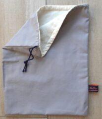 Du-Pain-Eco Katoen broodzak / Cotton Bread bag - Large - Stone