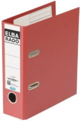 Rode Elba Rado Plast ordner voor ft A5 staand, donkerrood, rug van 7,5 cm