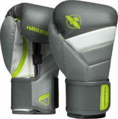 Groene Hayabusa T3 Bokshandschoenen - Charcoal / Lime - 16 oz
