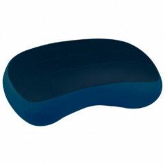 Donkerblauwe Sea to Summit Aeros Premium - Opblaasbaar Hoofdkussen - Regular Navy Blue