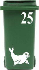Rosami Decoratiestickers Klikosticker Zeehond Met Huisnummer Rosami 1 Stuks Kleur: Zie Omschrijving