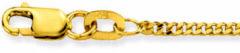 Glow 201.0438.34 Gouden Ketting Gourmet 38 cm 1.6 mm