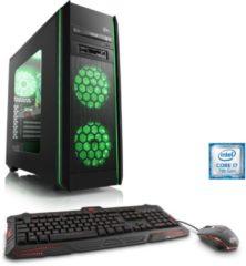 CSL Gaming PC | Intel Core i7-7700K | GTX 1070 | 16 GB DDR4 | SSD »Speed T9663 Windows 10 Home«