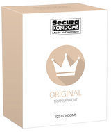 Transparante Secura Condooms Original Condooms - 100 Stuks