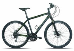 28 Zoll Legnano Sport Road Hybrid Mountainbike Aluminium 24-Gang Legnano schwarz