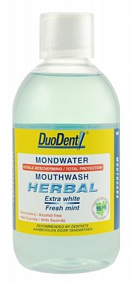 Afbeelding van Duodent Herbal Extra White/Freshness - 500 ml - Mondwater