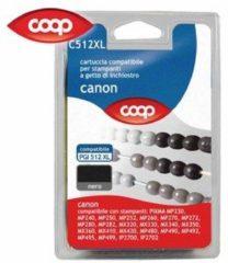 COOP Cartuccia per stampanti nero C512XL compatibile Canon PGI 512 XL
