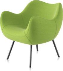 Groene Vzór Design Fauteuil / Stoel RM58 SOFT Synergy-06